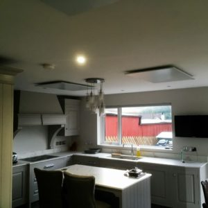 infrared heating for refurbishments