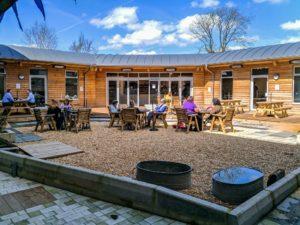 Herschel outdoor terrace heaters