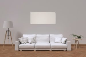 Herschel Select XLS White smart infrared heating