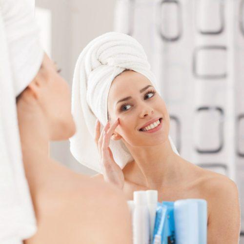 Calentador de espejo de baño Herschel que no se empaña y ayuda a reducir el moho