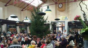 Calefacción de espacios en el mercado de Altrincham