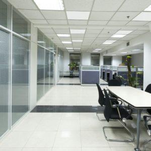 Estufas de techo por infrarrojos para oficinas