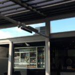 Calentadores de patio sin luz