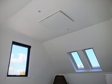 Los paneles infrarrojos de Herschel son la opción ideal para las ampliaciones del hogar