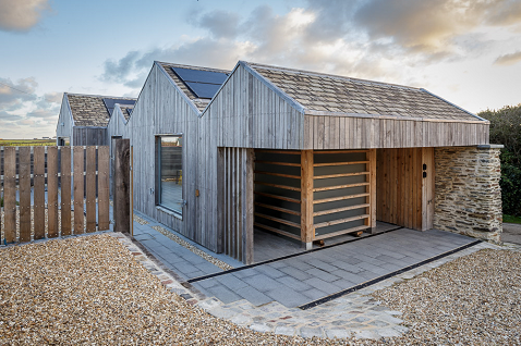 Charlie Luxton eco selfbuild with Herschel heating