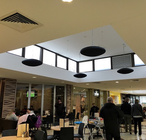 Calentadores Herschel elegidos para centro comercial