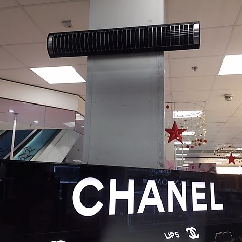 Herschel Infrared instalado en Boots Pharmacy