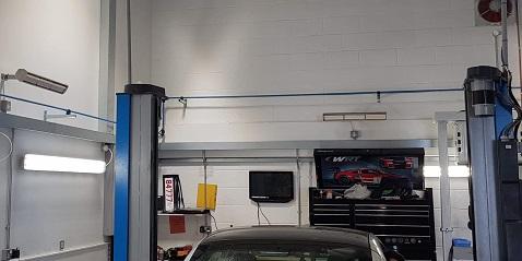 taller de garaje calentado por calentadores Advantage de Herschel