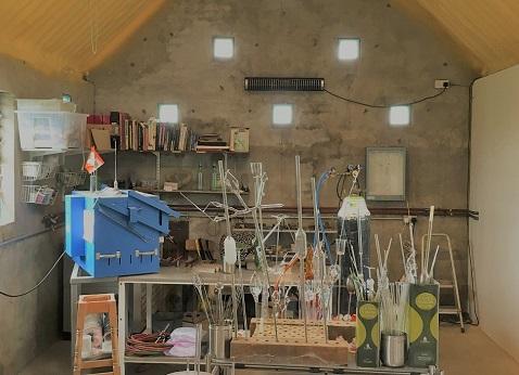 Herschel Aspect XL3 calienta un taller de garaje frío