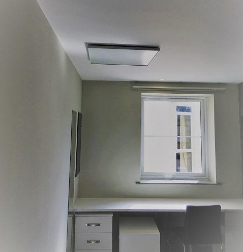 habitaciones de estudiantes climatizadas por Herschel