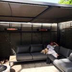 Calentadores de terraza eléctricos