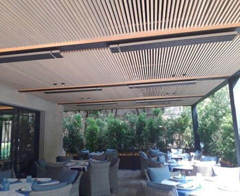 Zero Light patio heaters